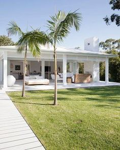 Outdoors - Three Birds Renovations House Bonnie's Dream Home Villa Design, Three Birds Renovations, House Renovations, Backyard Renovations, House Remodeling, Remodeling Ideas, Beach Shack, Coastal Homes, Coastal Cottage