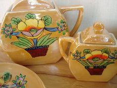 Art Deco Child Tea Set