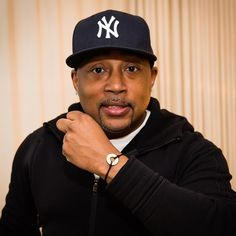 "HEALTHH Daymond John @thesharkdaymond from @sharktankabc and founder of FUBU at an influencer dinner hosted by @theAudience.  We explained my intent as ""for me by me"" (in reference to FUBU being ""For Us By Us"")"