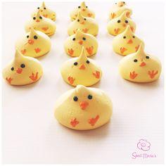Meringue Chicks.. Chirp, Chirp.
