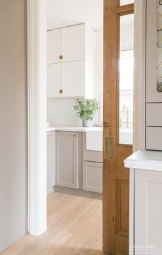 Ideas Vintage Pantry Door Linen Closets For 2019 Kitchen On A Budget, Kitchen Pantry, Kitchen Layout, Diy Kitchen, Kitchen Interior, Kitchen Decor, Kitchen Design, Pantry Design, Kitchen Ideas