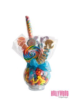 Sweet Stick Candy Kabob Skewers Arrangement-Edible Favors Centerpiece , Candy Buffet Decor, Candy Arrangement Wedding, Mitzvah,. $39.99, via Etsy.