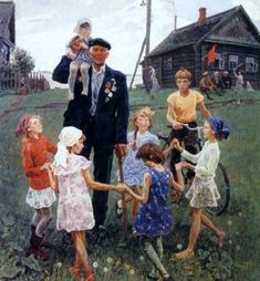 "А.П. Ткачёв, С.П. Ткачёв ""Дети мира"" 1982 г."