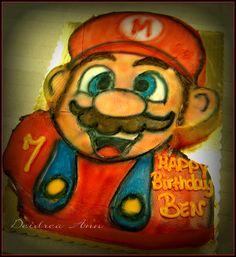 Easy step by step Super Mario Cake