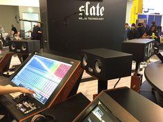 EVE SC307s powering the Slate Raven MTX @ Slate/Zaor booth