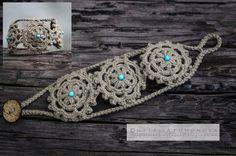 Outstanding Crochet: Crochet Bracelet