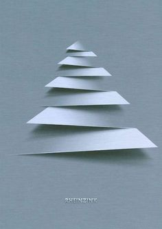 RHEINZINK - tinsmithing (Modern Christmas Tree)