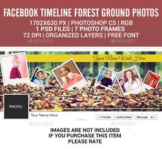 Facebook Timeline  Forest Ground Photos