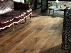 This photo is an obviously inspirational and extraordinary idea #wideplankhickoryfloor Affordable Hardwood Flooring, Wood Floors Wide Plank, Wood Tile, Bathroom Design Wood, Rustic Hardwood Floors, Rustic Flooring, Hardwood, Engineered Hardwood Flooring