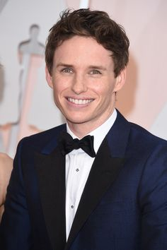 Eddie Redmayne Photos: Arrivals at the 87th Annual Academy Awards — Part 3