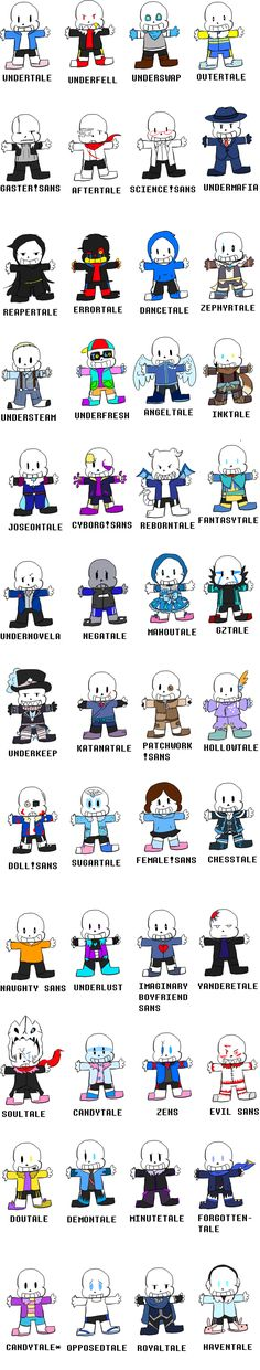 You cannot have too many Sans, right?