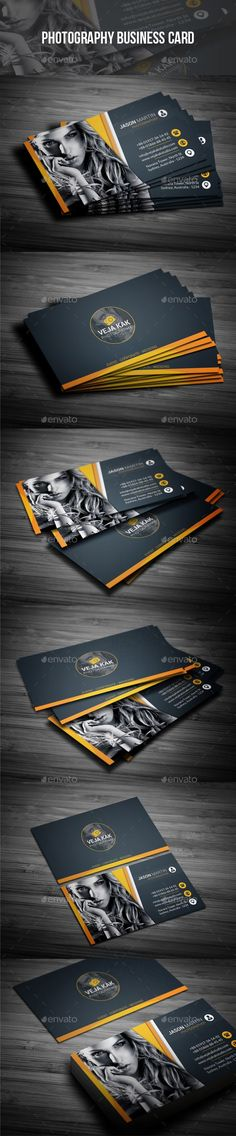 Photography Business Card - Industry Specific Business Cards Download here : https://graphicriver.net/item/photography-business-card/19385434?s_rank=110&ref=Al-fatih