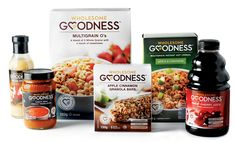 Wholesome Goodness will offer its line of all-natural foods at Riteaid stores nationwide. Ranging from trail mixes, to Omega and veggie tortilla chips, to pasta and barbecue sauces, you WILL find something for you.