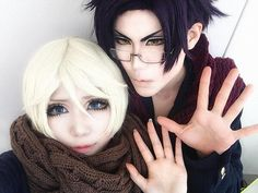 Alois Trancy & Claude Faustus ( cosplay by Sakuya & Shibuki Leo)