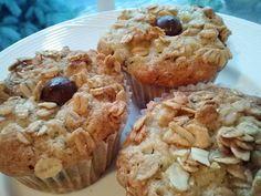 Banana Crunch Muffins - Also good with dark chocolate chips - Recipe from Ina Garten - http://www.foodnetwork.com/recipes/ina-garten/banana-crunch-muffins-recipe/index.html