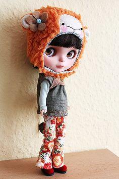 my 2nd sheep ;) Blythe Doll