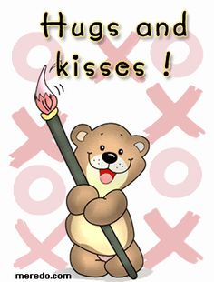 Love & hug Quotes : animated hugs and kisses Hugs And Kisses Quotes, Hugs N Kisses, Hug Quotes, Kissing Quotes, Hugs And Kisses Images, Gracias Gif, Neices Quotes, Abrazo Gif, Love Hug
