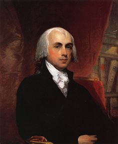 James Madison (1751-1836), fourth President of the United States (1809–1817),