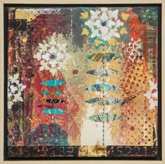 Summer Blooms by Darlene Olivia McElroy, Mixed Media | Zatista