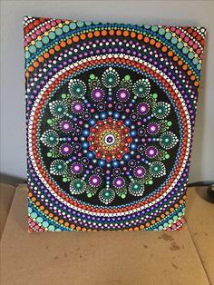 Hand painted by Mafa Stones - Mafastones.etsy.com