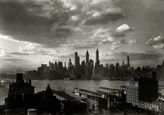"""March 15, 1933. """"New York city views. Financial district from Hotel Bossert."""""""
