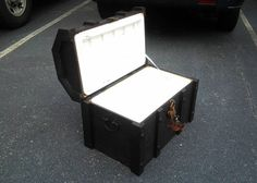 Pirate chest cooler - Maybe the best idea for larp I have seen this week.
