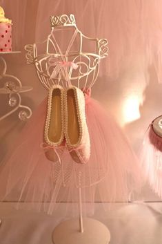 Swan Lake inspired Ballet Birthday Party Ideas | Photo 7 of 28 | Catch My Party