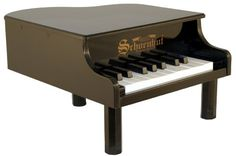 Schoenhut 18Key Mini Baby Grand  Black ** For more information, visit image link.Note:It is affiliate link to Amazon.