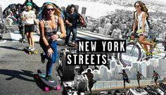 Estilo de NEW YORK STREETS pela colunista Isadora Greiner do blog foradaarea.com