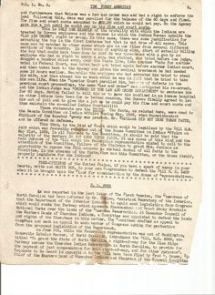 9-9 01 July 1939 The First American Official Publication of the American Indian