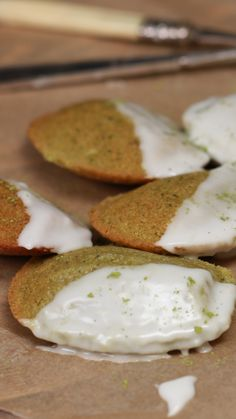 These madeleines have met their matcha