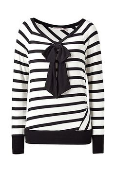 Juicy Couture striped bow top (Lim, Wonder Girls)