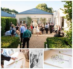 Mr & Mrs Smith tied the knot at Lindenderry at Red Hill on February 20, 2014