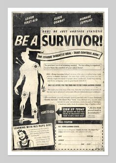 Be A Survivor...