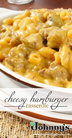 Take your Macaroni and Cheese up a notch with this Cheesy Hamburger Casserole!