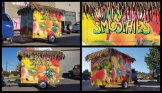 It's never too cold for smoothies from Smoothie Dave! Keep an eye for these mobile units, we've made sure they're easy to spot. Automotive Design, Body Care, Smoothies, Wraps, The Unit, Cold, Eye, Coats, Smoothie