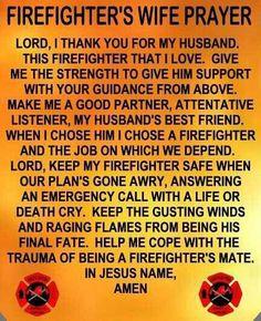 Firefighter girlfriend prayer