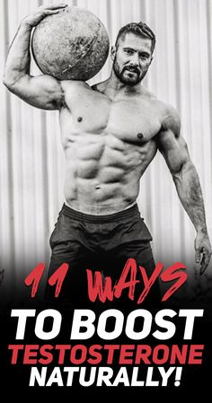 As you probably know: #testosterone is the most important hormone that is responsible for #muscle growth and #strength development. Check out these 11 simple ways you can use to boost your testosterone levels naturally! #fitness #gym #workout #exercise #bodybuilding #health