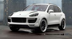 TopCar Shows Off White Porsche Cayenne Vantage 2015 Kit