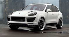 TopCar Shows Off White Porsche Cayenne Vantage 2015 Kit
