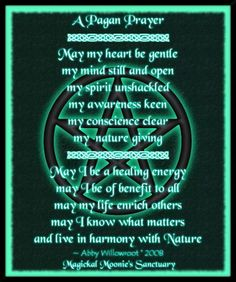 109 Best Wiccan Prayers And Blessings Images Witchcraft Magick