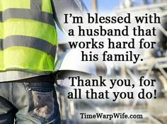 We are blessed with a husband and father who works very hard for his family, beyond Blessed! Thank you CMR, we love you!