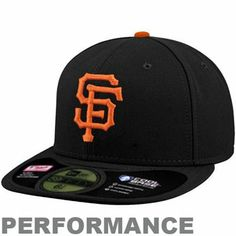 7c1449921fda5 New Era San Francisco Giants On-Field Performance 59FIFTY Fitted Hat -  Black San Francisco