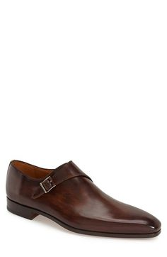 Magnanni 'Efren' Monk Strap Loafer (Men) available at #Nordstrom