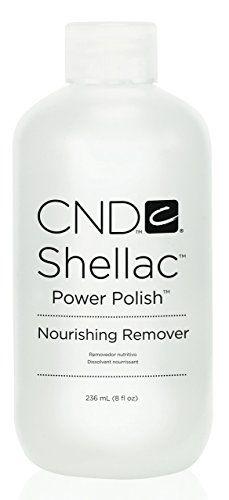 CND: Shellac Nourishing Remover, 8 oz