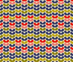 ekko_annika fabric by holli_zollinger on Spoonflower - custom fabric