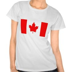 Canadian Maple Tees!  #new #flag #zazzle #store #gift #shop #customize #home #apparel #office http://www.zazzle.com/flagsbydww25921*