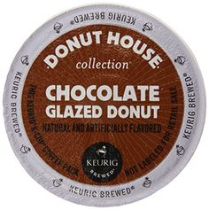 Donut House Collection Chocolate Glazed Donut, Keurig K-Cups, 72 Count - http://bestchocolateshop.com/donut-house-collection-chocolate-glazed-donut-keurig-k-cups-72-count/