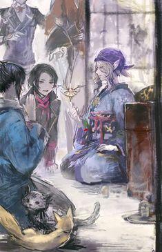 Touken Ranbu - Mononoke - crossover