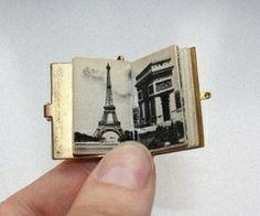 tiny book *o* awwww! :') <3